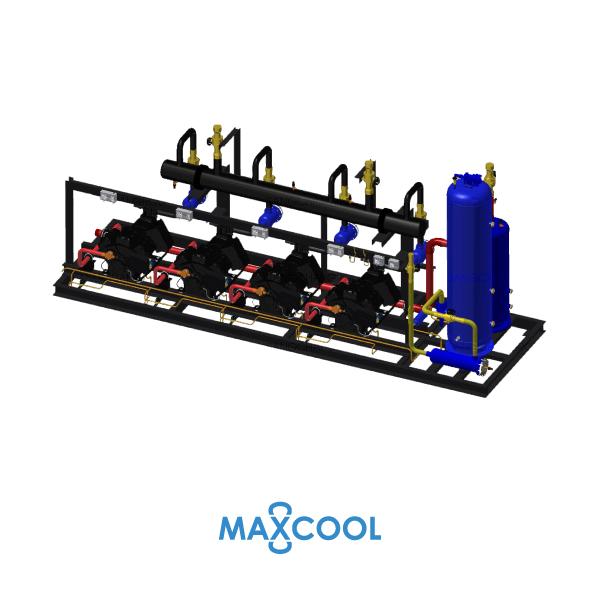 STREAM COMPRESSOR RACK MAXCOOL RDL-160-AB3 1
