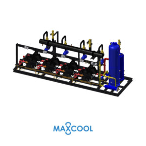 STREAM COMPRESSOR RACK MAXCOOL RDM-200-AB4