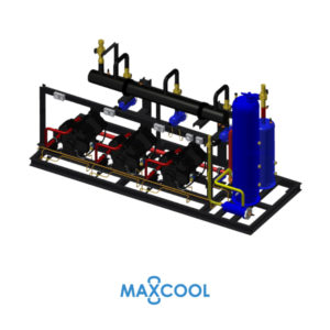 STREAM COMPRESSOR RACK MAXCOOL RDM-90-AB4