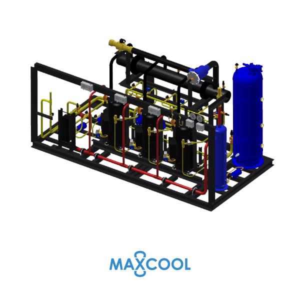 SCROLL COMPRESSOR RACK MAXCOOK RZFIL 45-AB4 1
