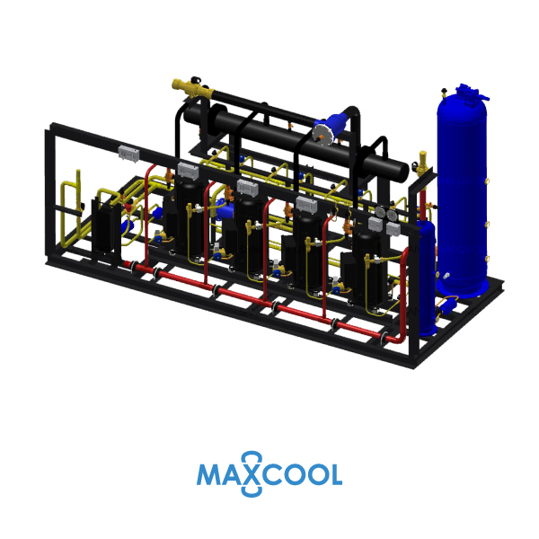 SCROLL COMPRESSOR RACK MAXCOOK RZFIL 60-AB3 1